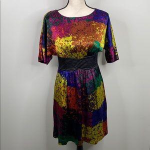 Trina Turk 100% silk Fosse Shanghai dress - 4